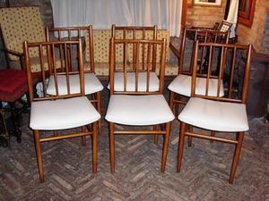 Juego de 6 sillas canadienses