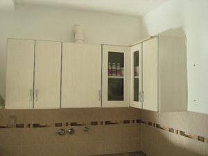 Mueble de cocina Mesada esquinera pileta doble canilla