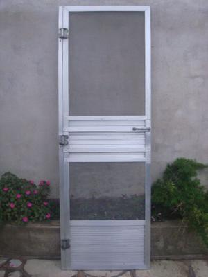 Puerta mosquitero de aluminio 0,80 x 2 m