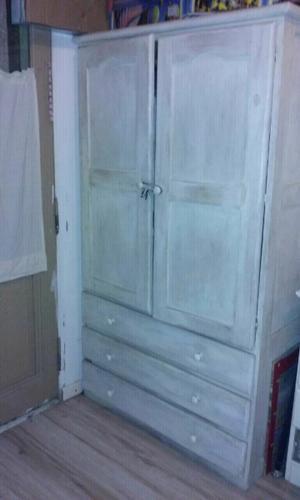Ropero placard dos puertas