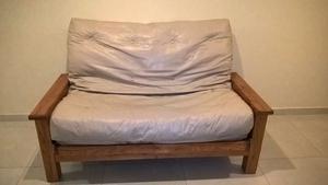 Sillon futon 2 cuerpos/cama de 2 plazas
