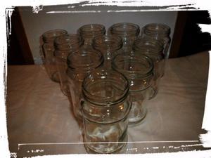 Vendo frascos de vidrio (mermelada)