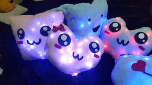 Almohadas Led Super suaves Luz de noche