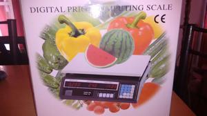 Balanza comercial digital hasta 40kg