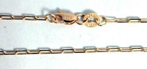 Cadena Oro 18k Forcet Maciza 3,2grs X 60cm Hombre Garantia