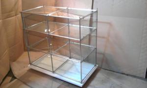 Exhibidora de vidrio