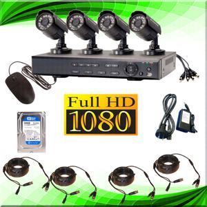 Kit de 4 cámaras con instalación incluida