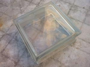 Ladrillos de vidrio nuevos xx8 cm entrega sin posot class - Ladrillos de vidrio precio ...