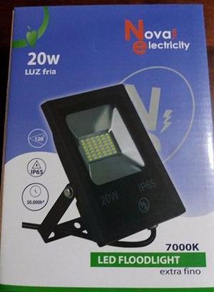 REFLECTOR LED 20W BLANCO FRIO NOVA ELECTROCITY