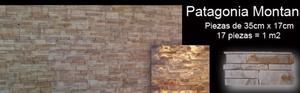 Revestimiento de piedras para interior o exterior.Adhesivo
