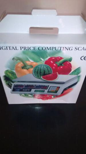 Vendo balanza comercial digital nuevas en cajas hasta 40kg.