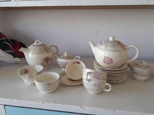 Antiguo Juego de té y café