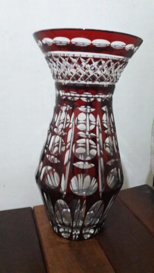 Florero o jarron de cristal