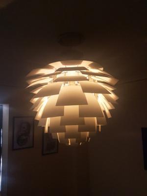 Lámpara de diseño alcaucil