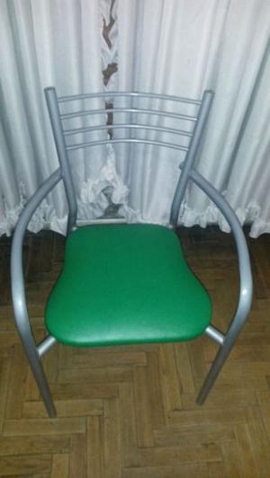 Silla Nueva con asiento de cuero