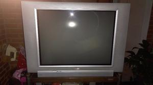 "Televisor Philips 29"" pantalla plana con mesa original"