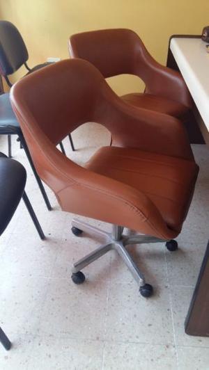 Vendo sillones gemelos para escritorio oficina/hogar muy