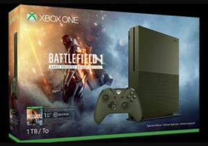 Xbox One S 1 Tb Edición Btf1 Battlefield 1.