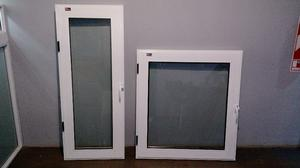 Aberturas de Aluminio Color Blanco