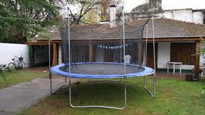Cama elastica de 4 metros