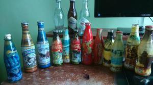Botellas De Vidrio Coca Cola Y Quilmes Coleccion