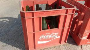 Cajon Plástico De Botellas De Coca Cola