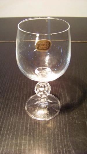Copas X 6 Cristal De Bohemia Claudia 150 Ml