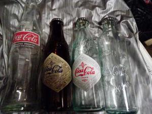 Lindo Lote De 3 Botellas Coca Cola Para Coleccionar