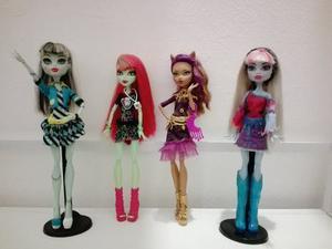 Monster High Originales Usadas Pero Impecables- Lote X3