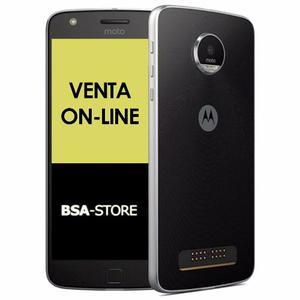 Motorola Moto Z Play 32gb 3gb Libre Tapa Y Vidrio De Regalo!