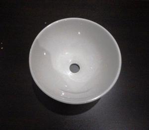 Bacha Apoyo Circular Redonda Ceramica 30 Cm Rodex ¡Nueva¡