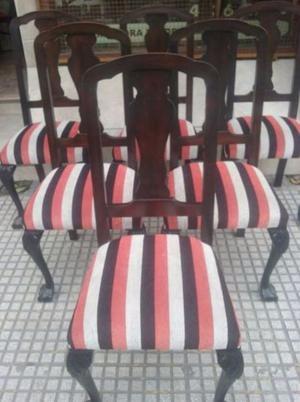 Vendo sillas mesa y sillon chippendale de posot class - Sillas chippendale ...