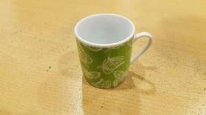 Juego de café de porcelana 6 personas