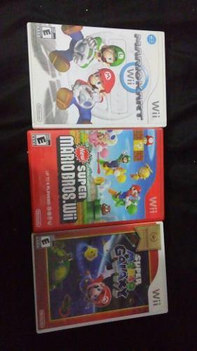 Juegos De Wii Originales Usados En Excelente Estado
