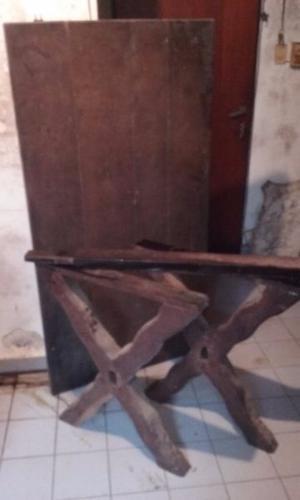 Mesa Algarrobo con 4 sillas