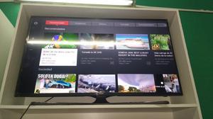 Smart tv 4k 50 Samsung nuevo outlet con detalle de una
