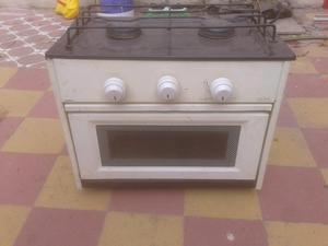 Cocina anafe con horno a gas