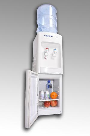 Dispenser De Agua Frio Calor Con Heladera Para Bidones Humma