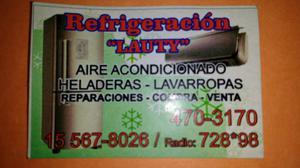 Servis de Heladeras Aires acondicionados y lavarropas