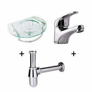 Sifon cromado para lavatorio bacha o vanitory posot class for Vanitory ferrum precios