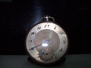 Antiguo Reloj Bolsillo Juvenia Open Face Art Deco