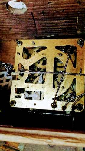 Antiguo Reloj Cucu Para Restaurar O Repuesto