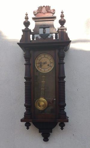Antiguo Reloj De Pared Aleman Junghans 1 Metro De Alto