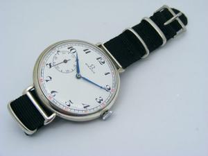 Antiguo Reloj Omega Adaptado A Reloj Pulsera
