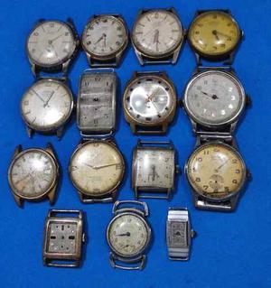 Lote De 15 Relojes Pulsera A Revisar