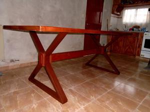 Muebles en hierro industrial y madera