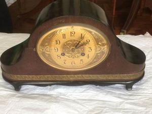 Reloj De Mesa Aleman A Cuerda Antiguo No Funciona