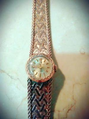 Reloj De Oro Tressa De Mujer