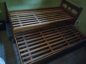 Vendo cama doble de 1 plaza