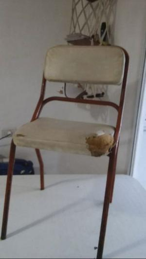 juego de seis sillas